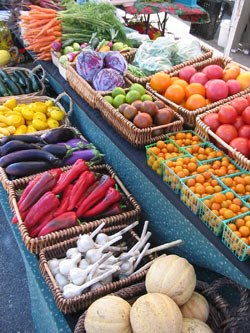 farmstand colorful